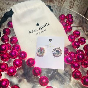 Kate Spade ♠️ New York gumdrops studs earrings 💖